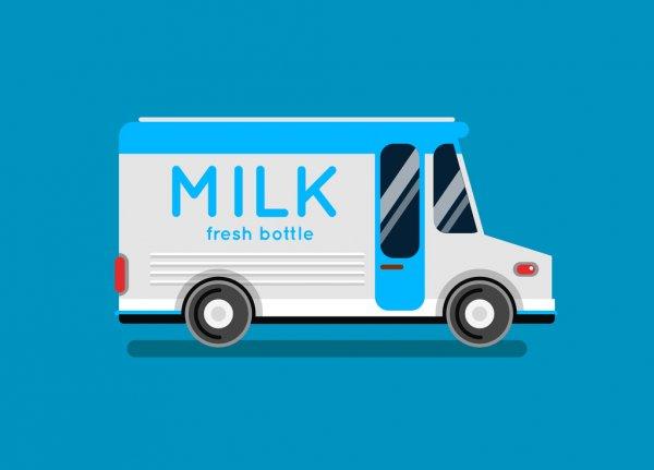 Dairy Deliveries - Underdown Dairy